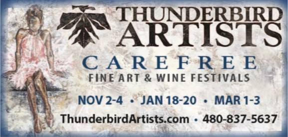 Thunderbird Artists 2018-19 Dates