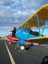 Collector planes at a show at SkyRanch Airport
